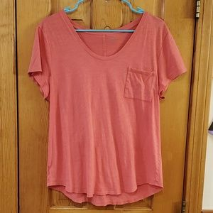 LOFT Vintage Wash 100% Cotton T-Shirt Large
